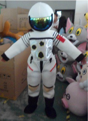 Doll Clothing Performance Clothing Set Special Leather Clothing Costumes Astronaut Spacesuit Mascot Costume