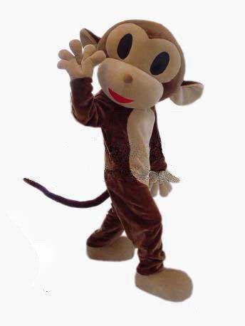 Cartoon Costumes Cartoon Characters Wear Clothing Doll Clothing Doll Clothing Cartoon Monkey Jumping Mascot Costume