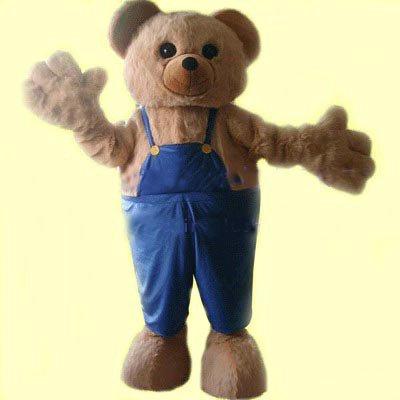 Beijing Cartoon Clothing Doll Clothing Cartoon Costumes Bear Brother Mascot Costume