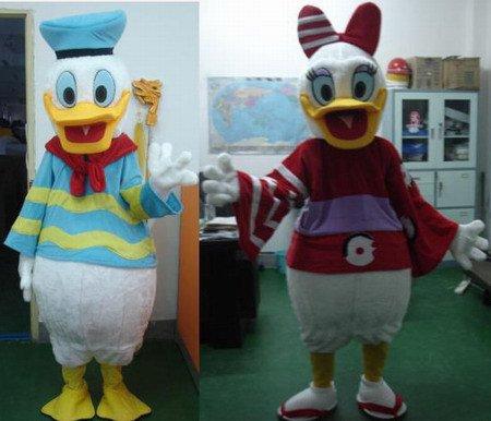 Cartoon Costumes Cartoon Doll Clothing Cartoon Dolls Plush Dolls Walking Clothing Donald Duck Mascot Costume