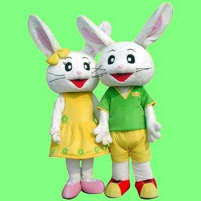 Cartoon Doll Cartoon Clothing Doll Clothing Cartoon Clothing Doll Clothing Happy Bunny Mascot Costume