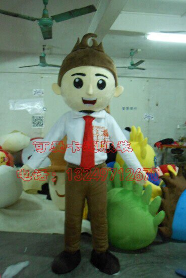 Set Cartoon Clothing Cartoon Characters Clothing Cartoon Dolls Cartoon Clothing Performance Clothing Homely Boy Mascot Costume