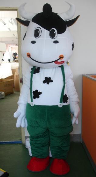Cartoon Clothing Cartoon Costumes Cartoon Costumes Cartoon Clothes Green Mengniu Mascot Costume