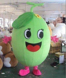Changchun Cartoon Doll Clothing Cartoon Fruit Cartoon Costumes Cartoon Clothing Cantaloupe Mascot Costume