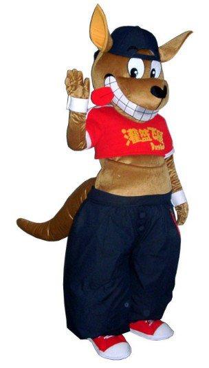 Doll Clothing Cartoon Clothing Set Animal Cartoon Costumes Performance Clothing Kangaroo Mascot Costume