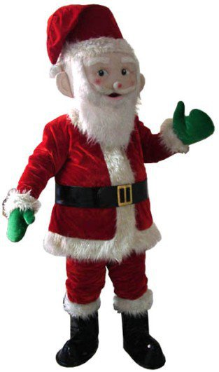Domestic Cartoon Clothing Cartoon Doll Clothing Doll Clothing Performance Clothing Santa Claus Mascot Costume