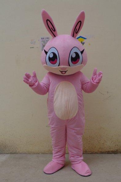 High-performance Clothing Cartoon Clothing Set Cartoon Doll Doll Cartoon Red Bunny Mascot Costume