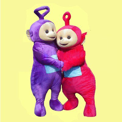 Television Cartoon Character Costumes Cartoon Clothing Doll Clothing Doll Clothing Teletubbies Mascot Costume