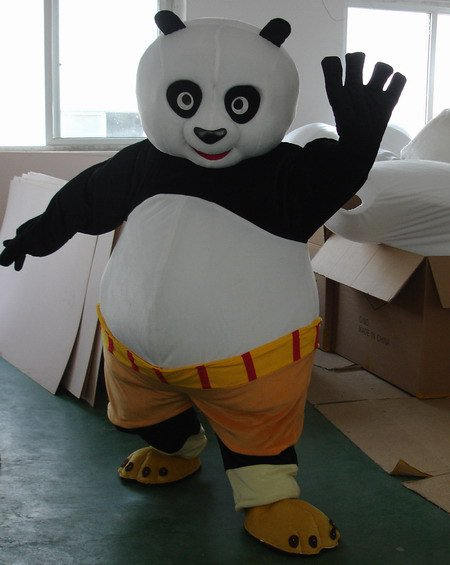 Clothing Toys Clothing Cartoon Clothing Doll Clothing Cartoon Doll Kung Fu Panda Mascot Costume