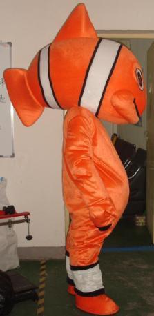 Shanghai Seafood Clothing Cartoon Costumes Cartoon Doll Clothing Cartoon Clothing Clown Fish Mascot Costume