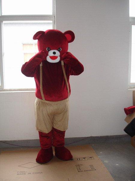 Cartoon Doll Clothing Cartoon Show Clothing Clothing Animal Cartoon Brown Bear Mascot Costume