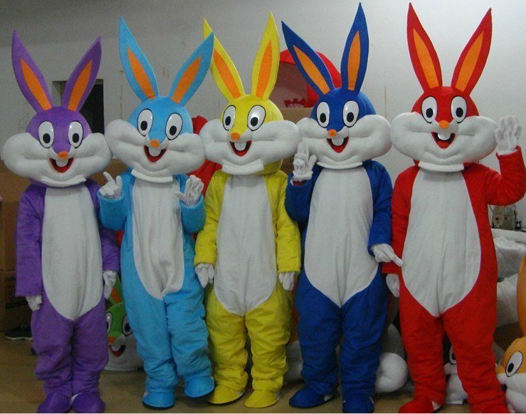 Manufacturers Cartoon Clothing Cartoon Clothing Cartoon Doll Clothing Loaded Bugs Bunny Mascot Costume