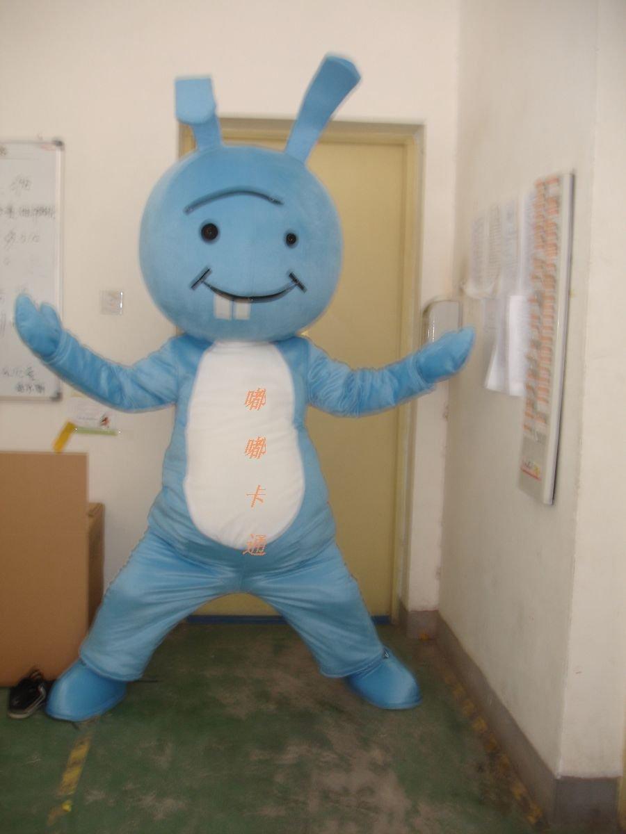 Walking Cartoon Doll Clothing Cartoon Show Clothing Cartoon Children Clothing Burst Cartoon Rabbit Teeth Mascot Costume