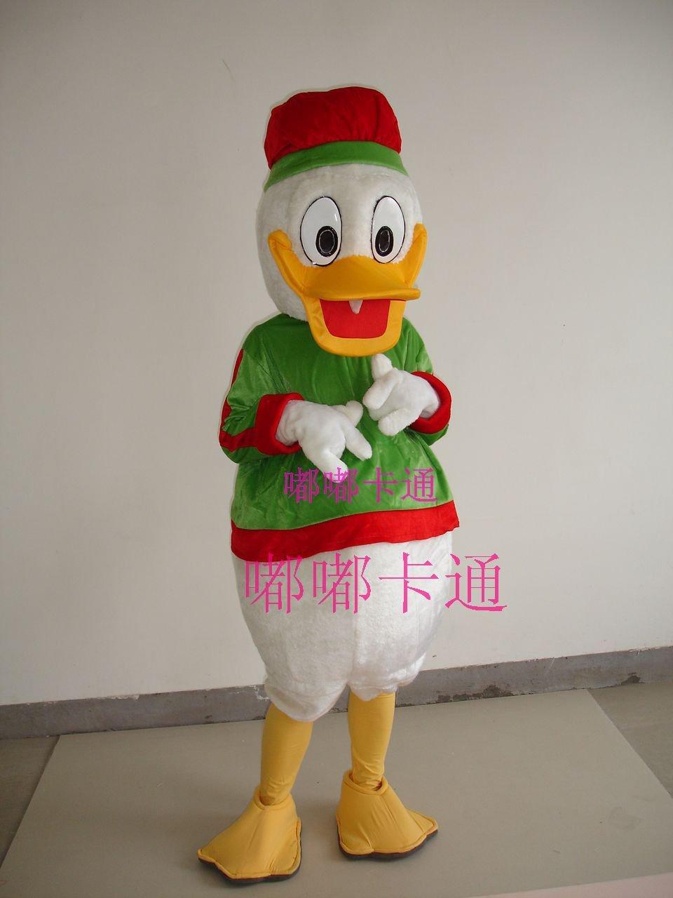 Cartoon Costumes Walking Cartoon Doll Clothing Cartoon Clothing Christmas Donald Duck Mascot Costume