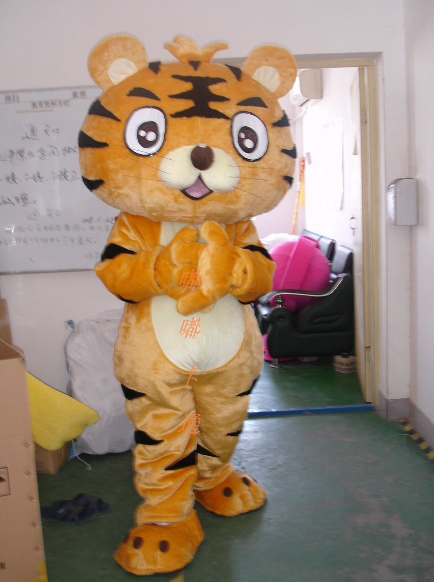 Cartoon Costumes Walking Cartoon Doll Clothing Cartoon Costumes Tiger Mascot Costume