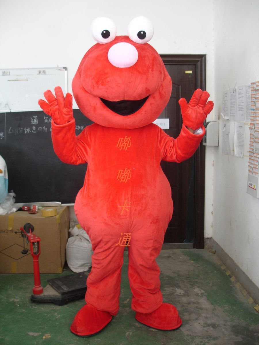 Cartoon Costumes Walking Cartoon Doll Clothing Doll Clothing Walk The Red Frog Mascot Costume