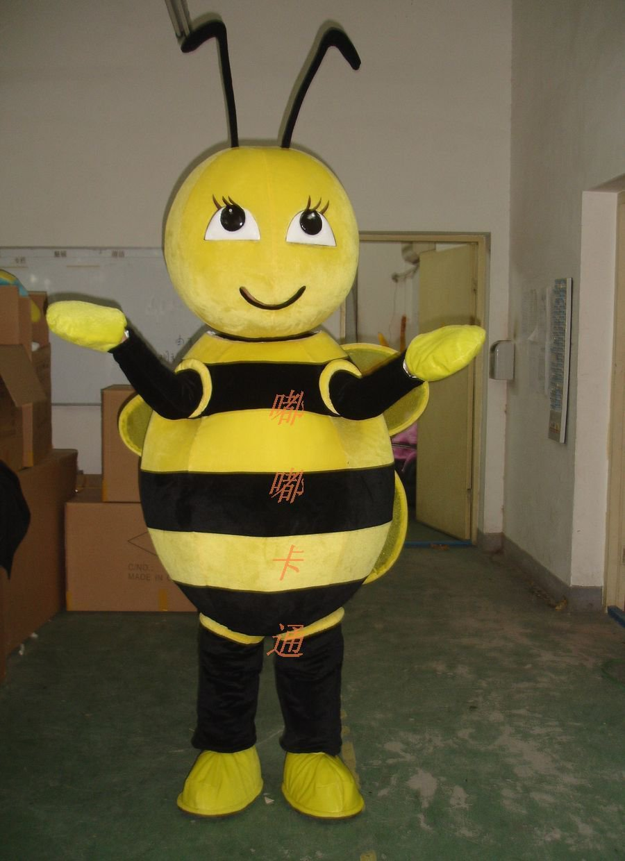 Cartoon Costumes Walking Cartoon Doll Clothing Doll Clothing Walking Bee Mascot Costume