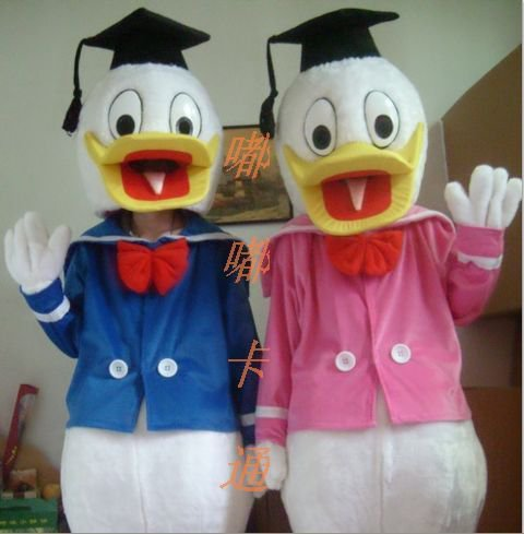 Cartoon Doll Clothing Doll Clothing Wholesale Cartoon Donald Duck Cartoon Costumes Cartoon Costumes Mascot Costume