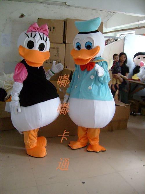 Celebration Cartoon Costumes Cartoon Doll Clothing Cartoon Show Clothing Clothing Ads Donald Duck Mascot Costume