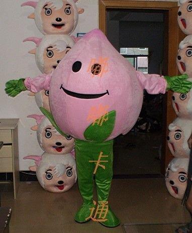 Walking Cartoon Doll Clothing Cartoon Show Clothing Cartoon Children Cartoon Clothing Peaches Mascot Costume