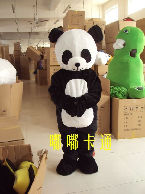 Cartoon Character Costumes Performance Clothing Doll Dolls Dolls Walking Cartoon Panda Promotions Mascot Costume