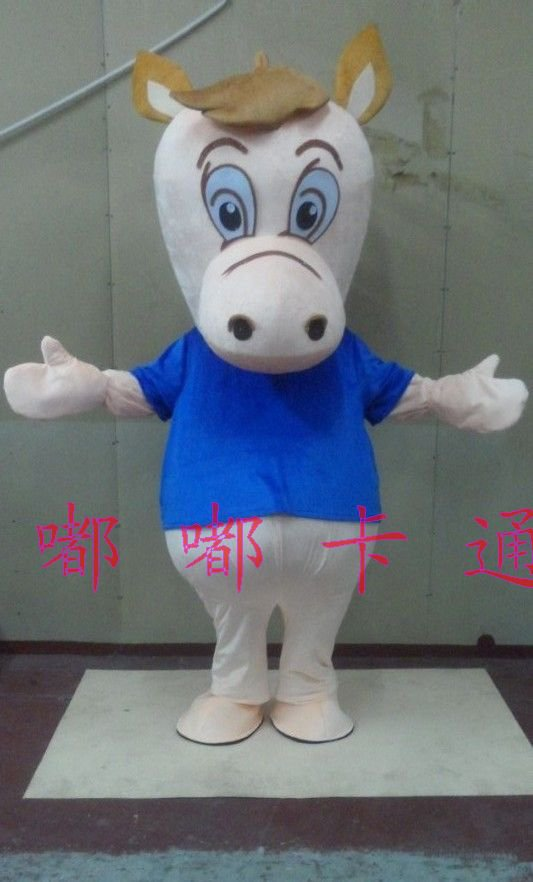 Cartoon Costumes Walking Cartoon Doll Clothing Theatrical Costume Television Animation Horse Doll Clothing Mascot Costume