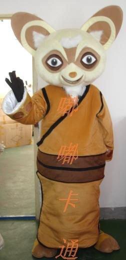 Doll Clothing Walking Cartoon Film and Television Animation Kung Fu Panda Costume Master Rat Saliva Mascot Costume