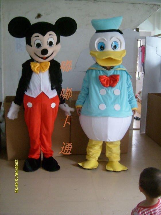 Walking Cartoon Doll Clothing Cartoon Show Clothing Cartoon Donald Duck Cartoon Costumes Mouse Mice Mascot Costume