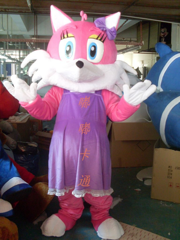 Walking Cartoon Doll Clothing Cartoon Show Clothing Cartoon Fox Cartoon Costumes Mascot Costume