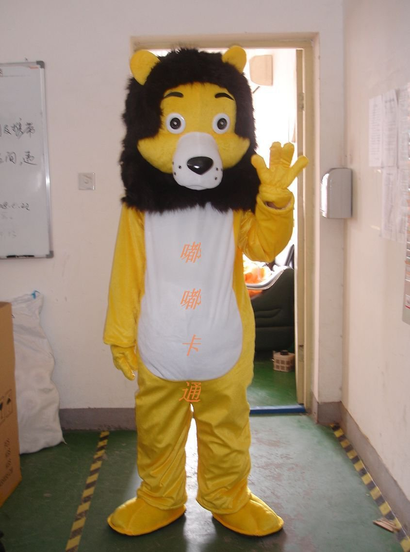 Walking Cartoon Doll Clothing Cartoon Show Clothing Cartoon Lion Cartoon Costumes Mascot Costume