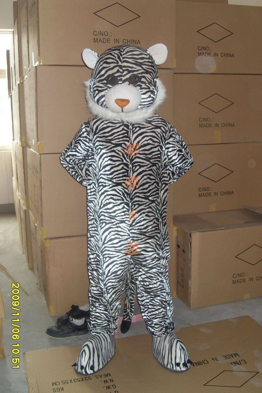 Walking Cartoon Doll Clothing Cartoon Show Clothing Cartoon Cartoon Costumes Leopard Mascot Costume