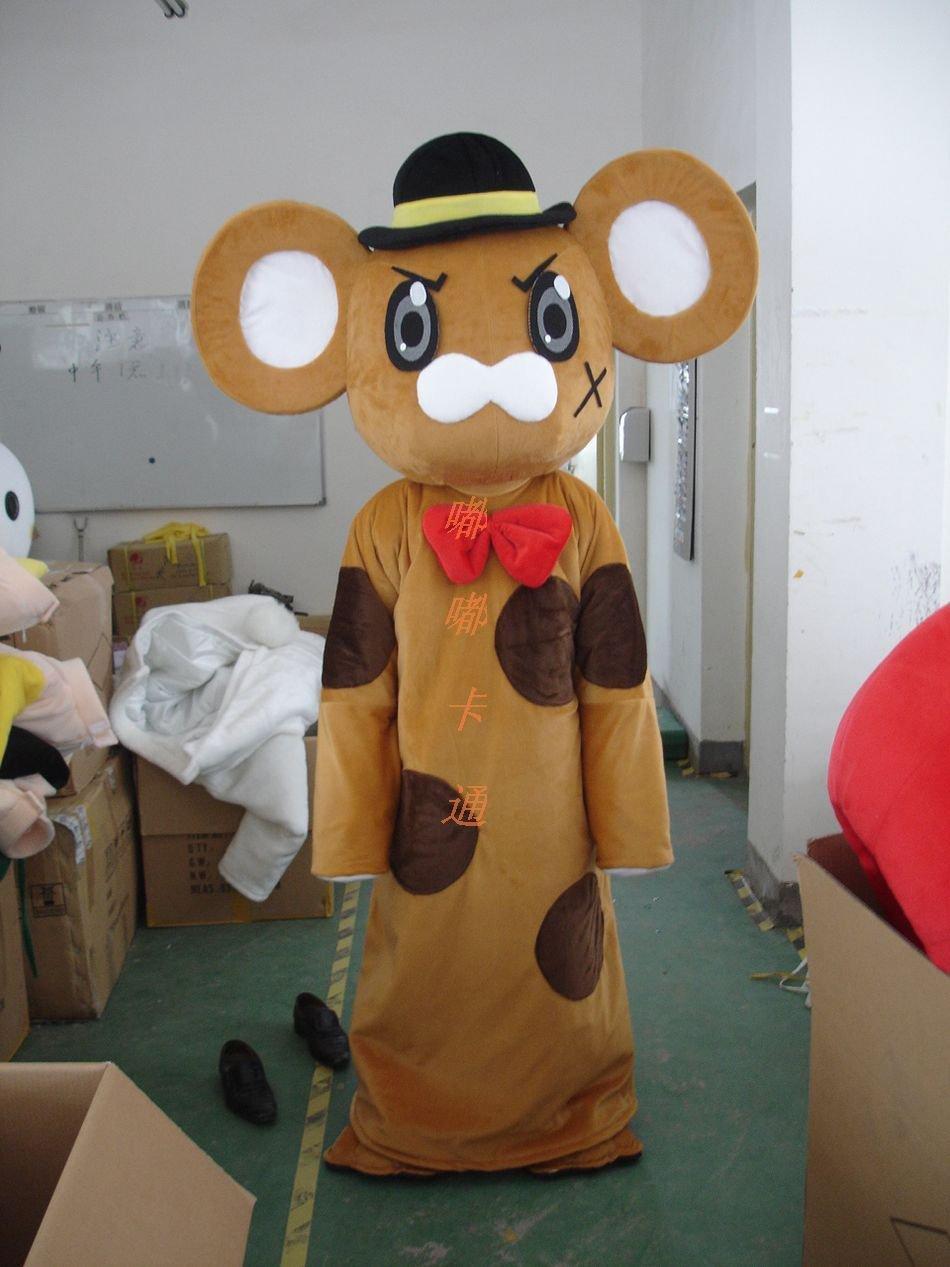 Walking Cartoon Doll Clothing Cartoon Show Clothing Cartoon Mouse Cartoon Costumes Hat Mascot Costume