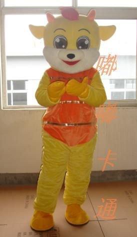Cartoon Costumes Walking Cartoon Doll Cartoon Doll Clothing Cartoon Costumes Golden Cat Mascot Costume
