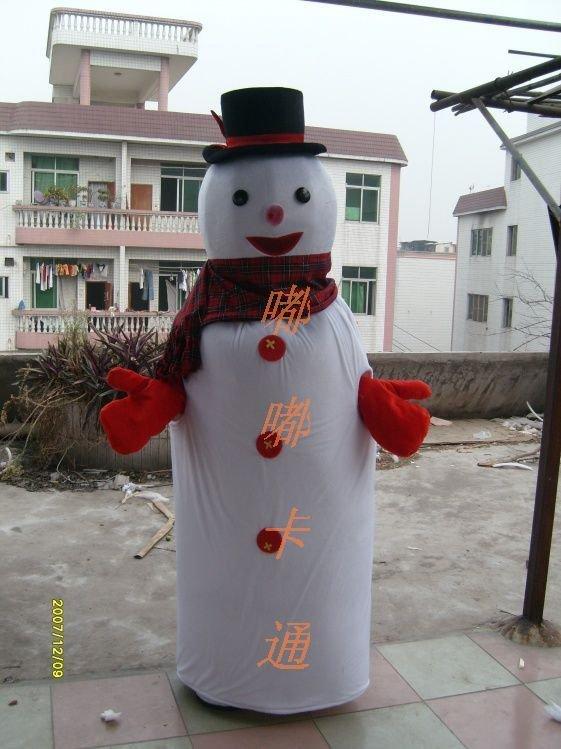 Walking Cartoon Doll Clothing Cartoon Show Clothing Children Cartoon Clothing Cartoon Snowman Mascot Costume