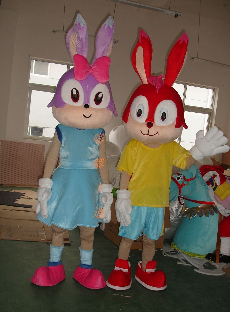 Manufacturers Sold Clothing Walking Cartoon Cartoon Doll Clothing Cartoon Costumes Cartoon Mascot Dolls Rabbit Mascot Costume