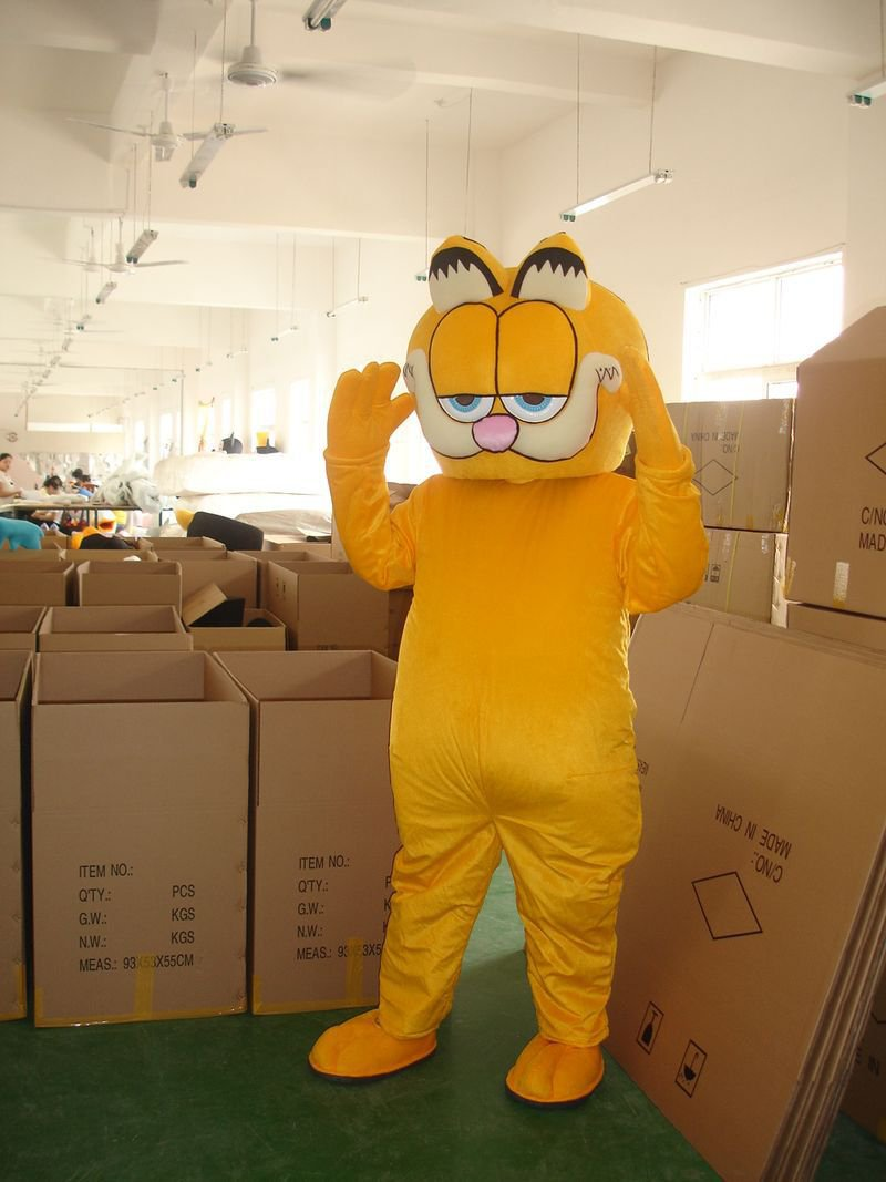 Manufacturers Sold Clothing Walking Cartoon Cartoon Doll Clothing Doll Cartoon Garfield Cartoon Costumes Mascot Costume