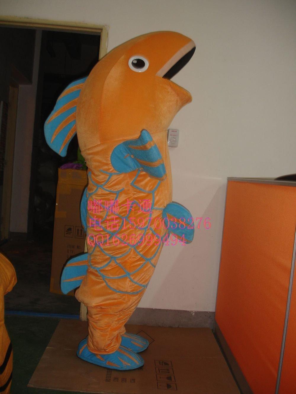 Manufacturers Sold Clothing Walking Cartoon Doll Clothing Cartoon Children Cartoon Clothing Fish Big Splash Mascot Costume