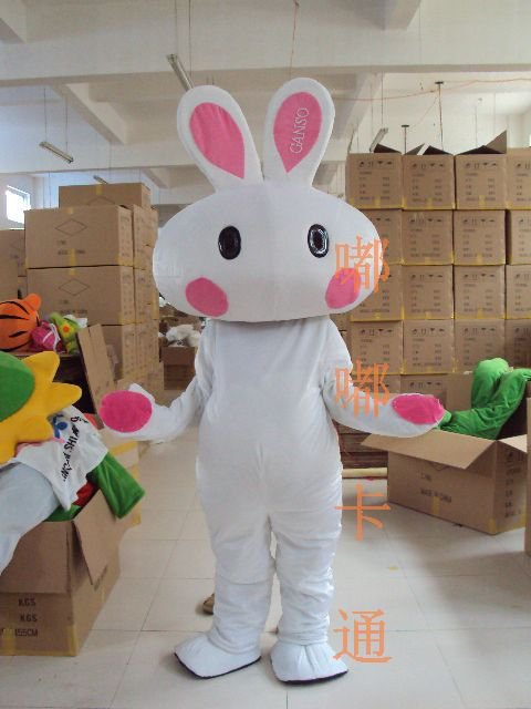 Walking Cartoon Doll Clothing Cartoon Show Clothing The Bulk of Rabbit Mascot Costume