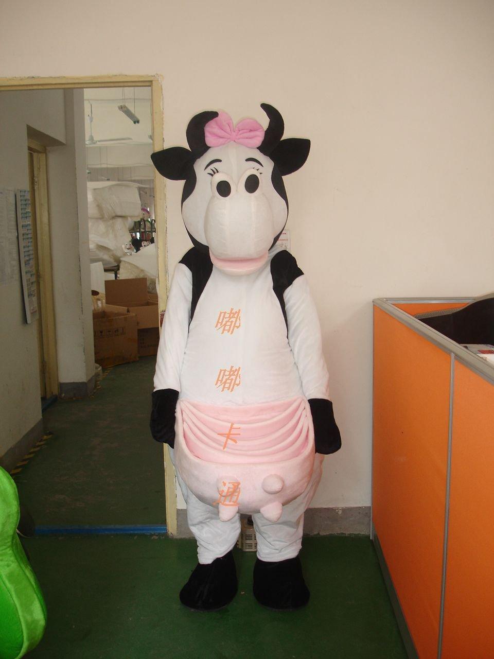 Cartoon Doll Clothing Doll Clothing Walking Cartoon Cartoon Cows New Zealand Mascot Costume