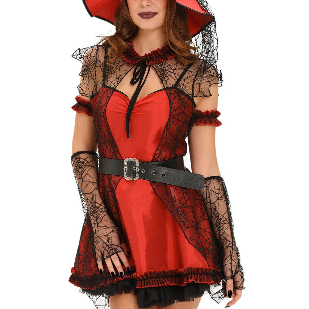 Adult Devil Witch Adult Halloween Six One Sexy Stage Installed Halloween Costume