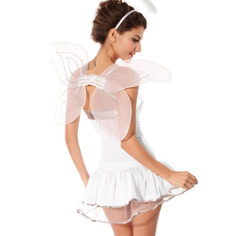 Halloween Sweet Word Collar Colsplay Game Uniform Angel Suit Suit Halloween Costume