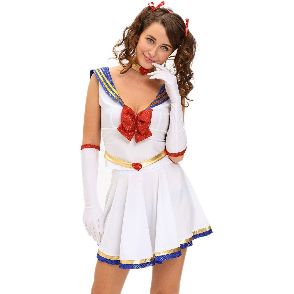 Europe and The United States Halloween Animation Navy Feng Shui Hand Sexy Little Performance Service Wu Jiantao Halloween Costume