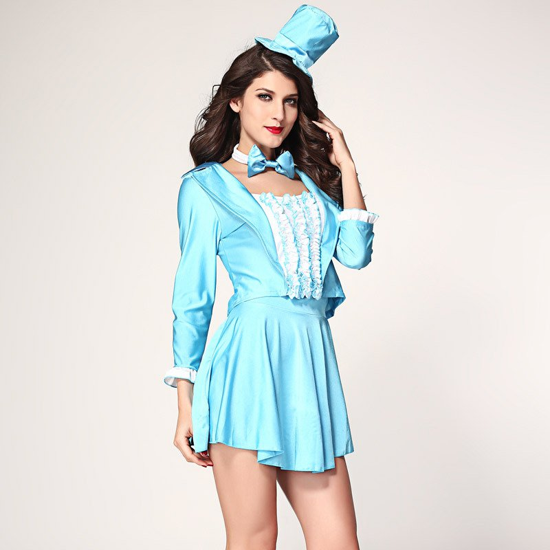 European - Style Stage Costumes Halloween Costumes Costumes Four - Piece Evening Dress