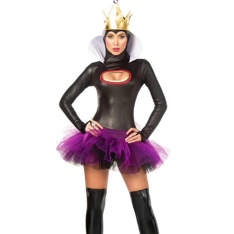 European Halloween Costume Demon Attire Queen Attire Witch Costume Queen Attire Uniform Temptation Assemble