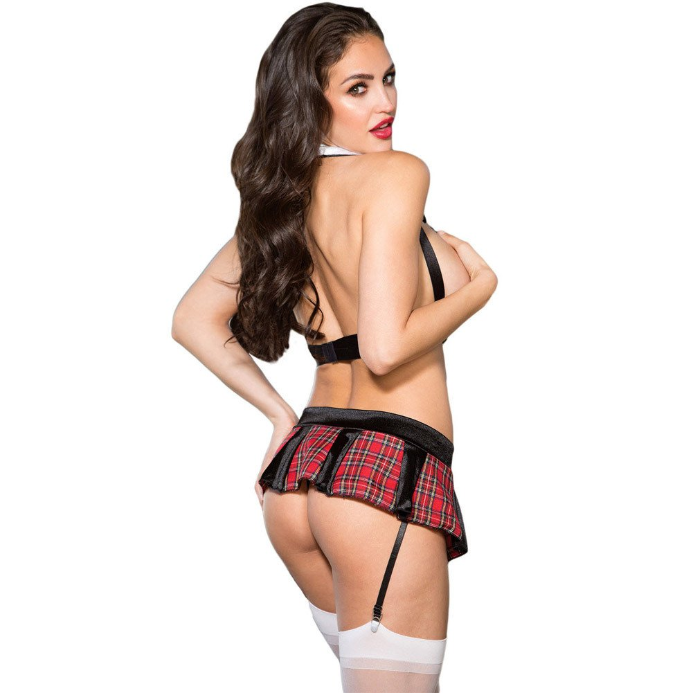 Halloween European and American Sexy Naughty Wear Game Uniform Stage Two - Piece Set Halloween Costume