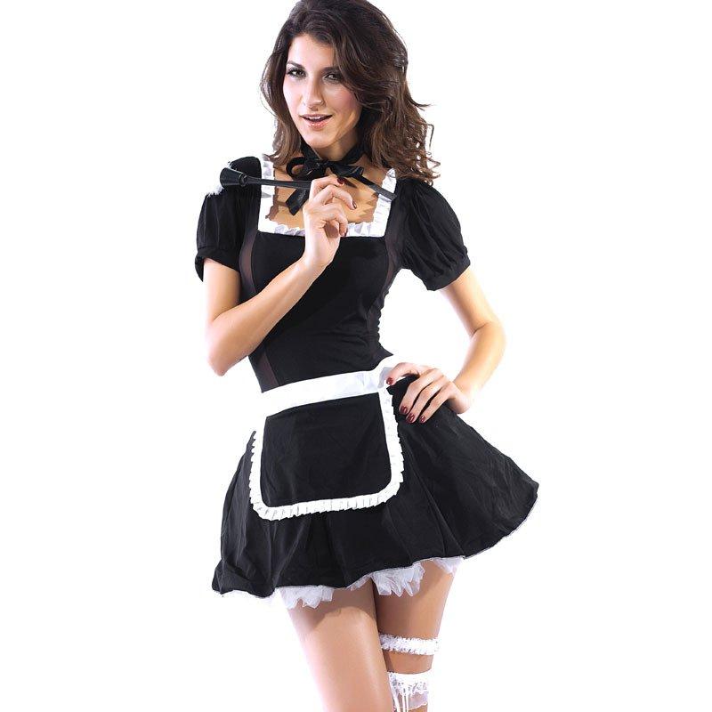 Halloween Winter Maid Maid Game Uniform Stage Equipment Halloween Costume