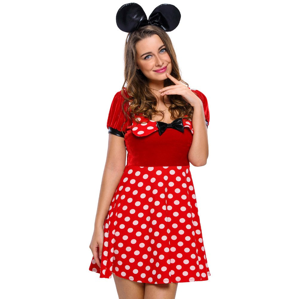 Little Dot Dress Dress. Little Miss Dress Halloween Costume