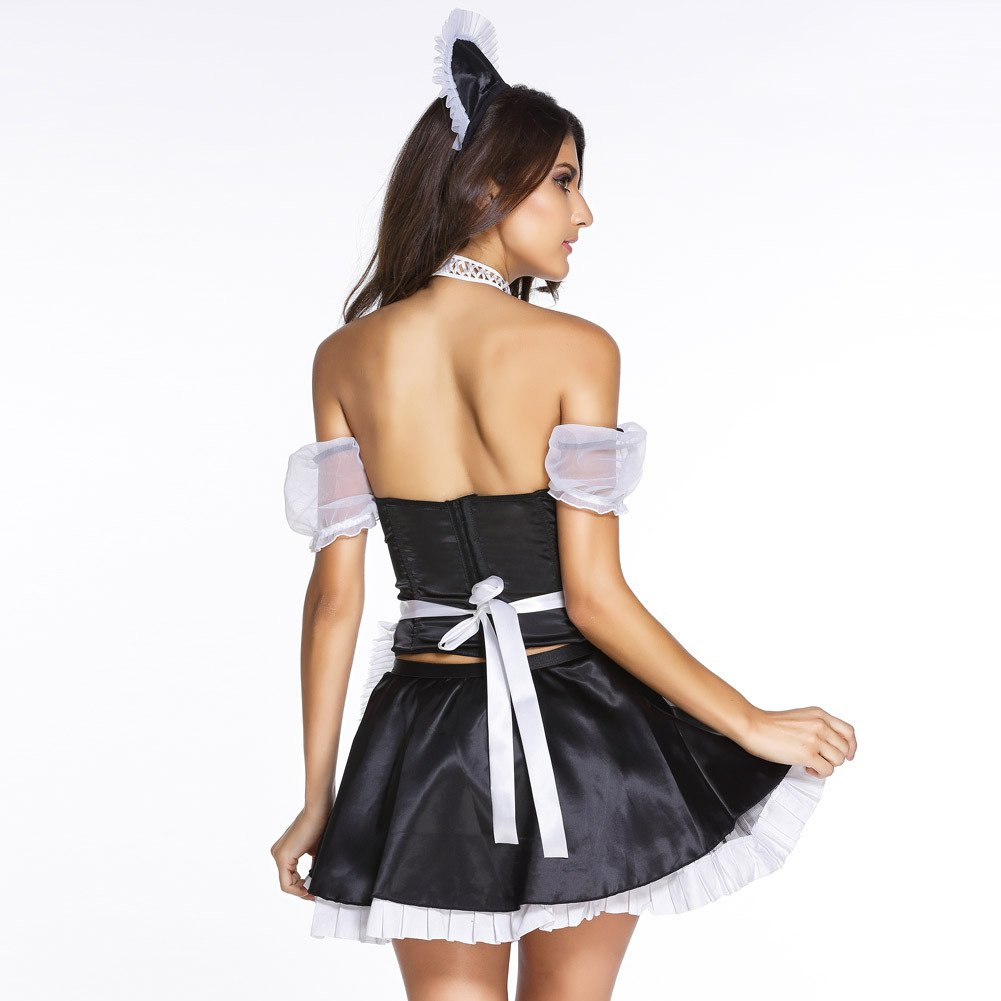 Sexy Sweet Sexy Naughty Sexy Special Service Girl Maid Clothing Halloween Costume