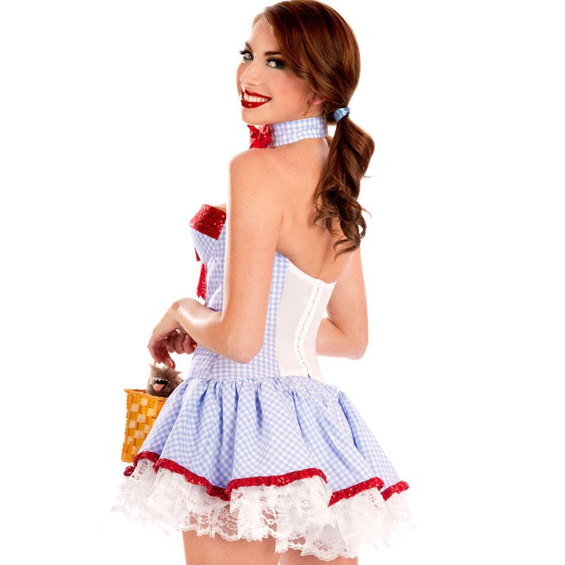 Sweet Sequins Girls Clothing Self - Cultivation Pendulum Skirt Princess Stage Equipment Halloween Costume