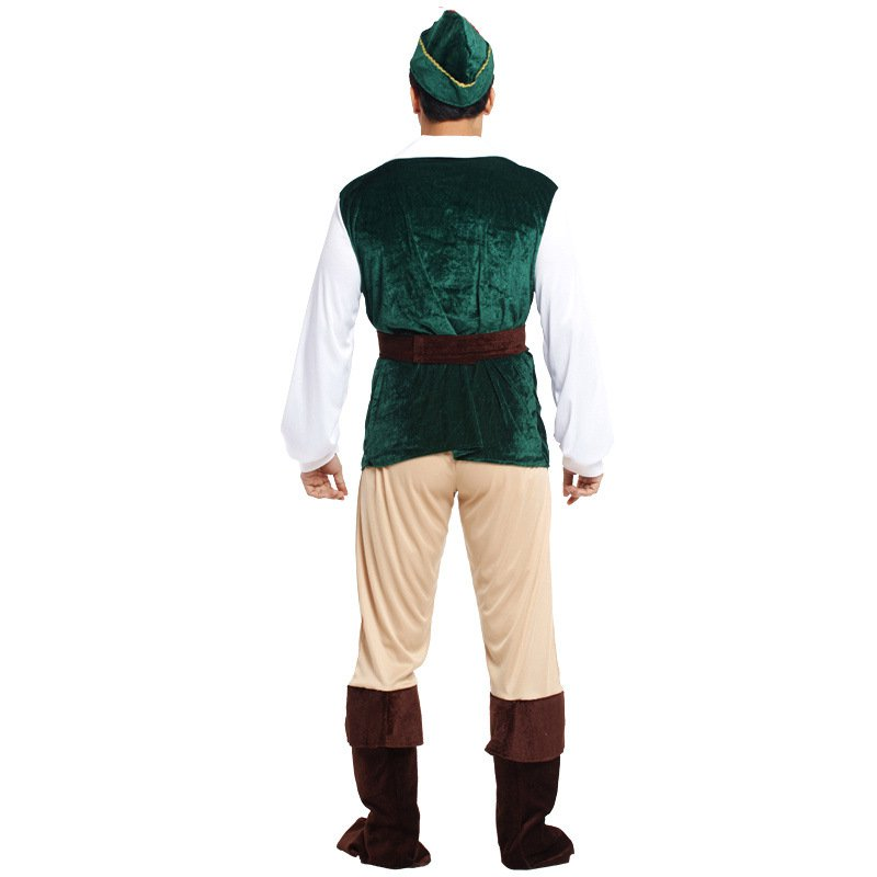 Halloween Costume Adult Hunter Prince Forest Dress Up Environmental Suit